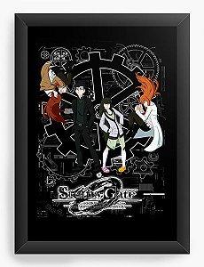 Quadro Decorativo A4(33X24) Anime Steins;Gate Gate of Zero