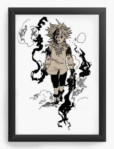 Quadro Decorativo A3 (45X33) Anime Meliodas