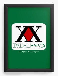 Quadro Decorativo A3 (45X33) Anime Hunter x Hunter