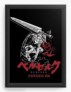 Quadro Decorativo A3 (45X33) Anime  Berserk
