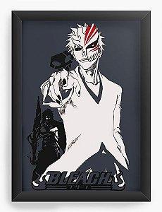 Quadro Decorativo A3 (45X33) Anime Bleach Shinigami