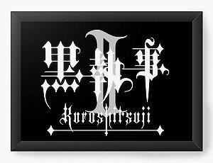 Quadro Decorativo A3 (45X33) Anime Kuroshitsuji