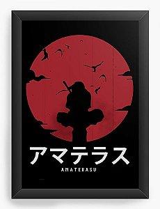 Quadro Decorativo A3 (45X33) Anime Amaterasu