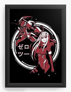 Quadro Decorativo A3 (45X33) Anime Darling in the Franxx