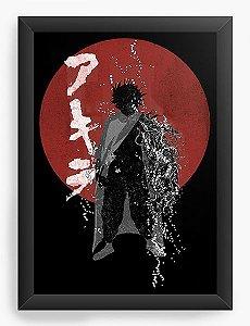 Quadro Decorativo A3 (45X33) Anime Akira Tetsuo Shima
