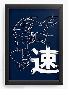 Quadro Decorativo A3 (45X33) Anime Ingenium Hero Academia