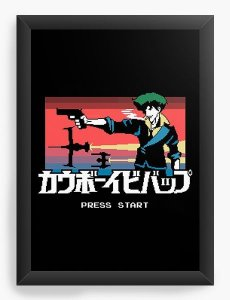 Quadro Decorativo A3 (45X33) Anime Cowboy Bebop