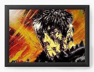 Quadro Decorativo A3 (45X33) Anime Berserk Face