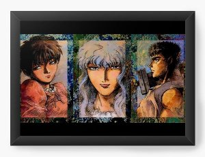 Quadro Decorativo A3 (45X33) Anime Berserk Portrait