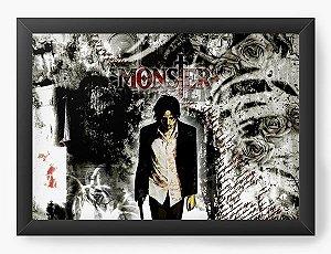 Quadro Decorativo A3 (45X33) Anime Monster Men