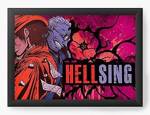 Quadro Decorativo A3 (45X33) Anime Hellsing