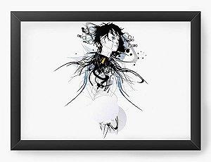 Quadro Decorativo A3 (45X33) Anime Ghost In The Shell