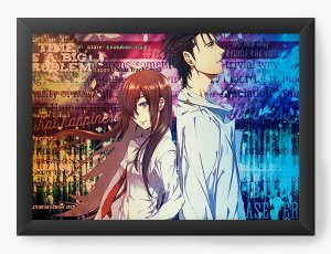 Quadro Decorativo A3 (45X33) Anime Steins Gate
