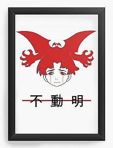 Quadro Decorativo A3 (45X33) Anime Devilman Crybaby