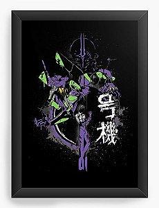 Quadro Decorativo A3 (45X33) Anime   Neon Genesis Evangelion