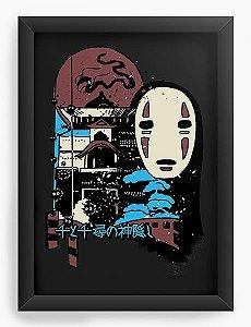 Quadro Decorativo A3 (45X33) Anime Spirited Away Chichiyaku
