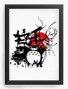 Quadro Decorativo A3 (45X33) Anime Totoro