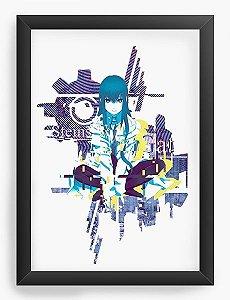 Quadro Decorativo A3 (45X33) Anime Steins;Gate Kurisu