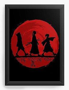 Quadro Decorativo A3 (45X33) Anime Samurai Champloo V