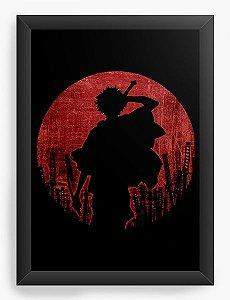 Quadro Decorativo A3 (45X33) Anime Samurai Champloo Warrior