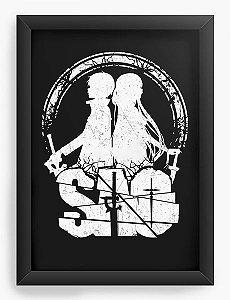 Quadro Decorativo A3 (45X33) Anime Sword Art Online