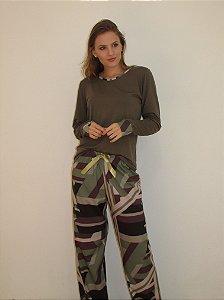12.106 - Pijama longo militar
