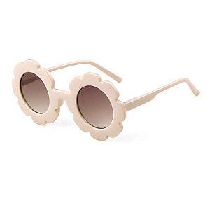 Óculos de Flor Branco
