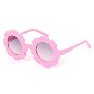 Óculos de Flor Rosa