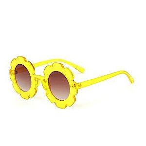 Óculos de Flor Amarelo