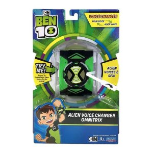 Ben 10 Alien modificador de voz
