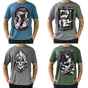 Camisetas Masculinas Estampadas