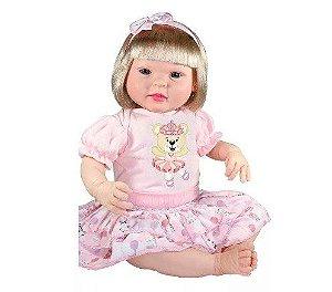 Boneca Bebe Reborn Diandra