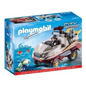 Playmobil 9364 Caminhão Anfibio City Action
