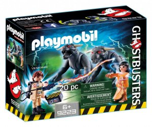 Playmobil Ghostbusters Venkman E Cães Do Terror - 9223