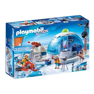 Playmobil 9055 Central De Expedição Polar