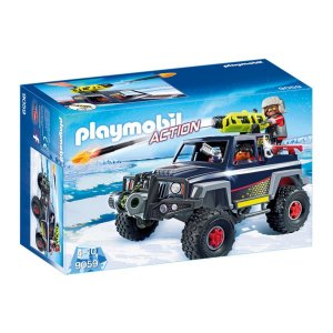 Playmobil 9059 Pirata Do Gelo Com Jipe