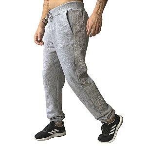 Calça Moletom Masculina Plus Size (Kit com 3 Unidades)