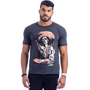 Camiseta Masculina Estampada (Kit com 10 Unidades)