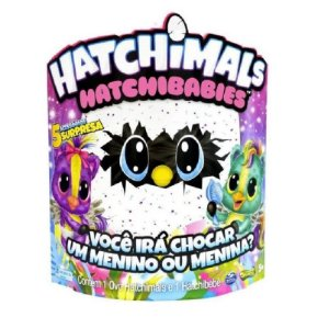 Hatchimals Hatchibabies Ponette Figura Surpresa 1869 Sunny