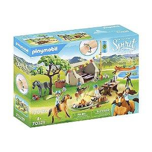 Acampamento de verão Playmobil