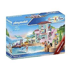 Sorveteria a beira-mar Playmobil