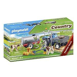 Playmobil Trator com tanque para água