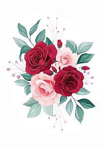 C087 | Arranjo de rosas