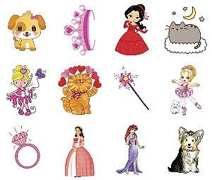 010 Kit Festa Grande Princesas