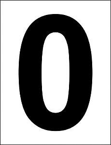Número 0