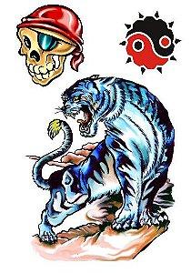 C019 Caveira, Tigre e Ying e Yang