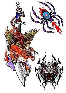 C026 Tigres, Faca e Aranha