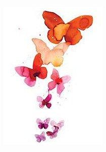 AQ019 Borboletas, Flores