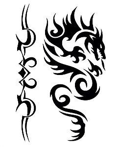 PB003 Dragão e Tribal