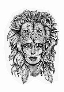 PB028 Índio e Leão
